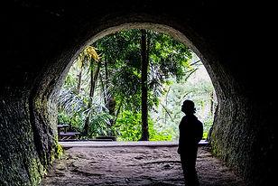Dutch and Japanese Caves, bandung