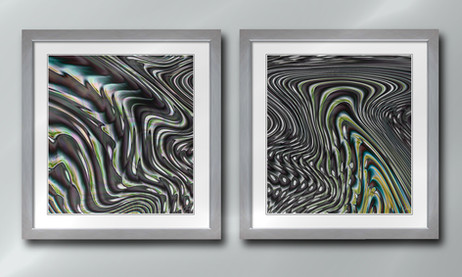 Flow 1 and 2 Diptych