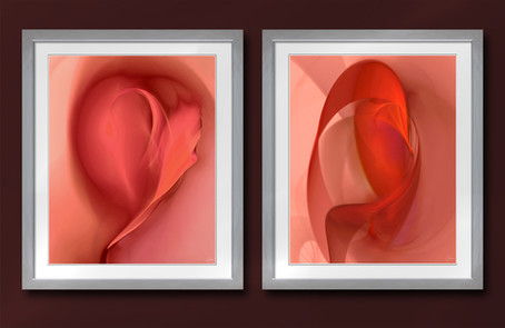 Amour Diptych