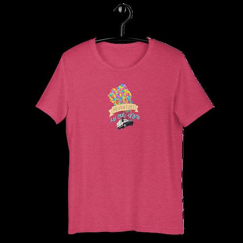 Up, Up Van Away Short-Sleeve Unisex T-Shirt