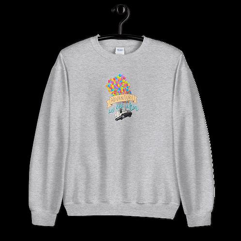 Up, Up Van Away Unisex Sweatshirt