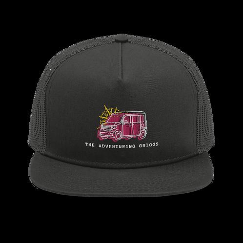 Logo Mesh Back Snapback