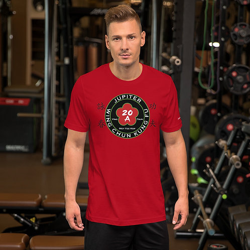 Jupiter Wing Chun Red Shirt