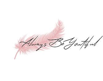 Feather Logo Light Pink ALWAYS BEYOUTIFU