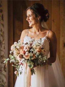 My beautiful bride Molly