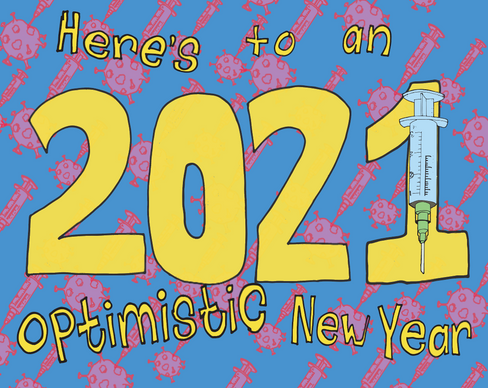 Optimistic New year .