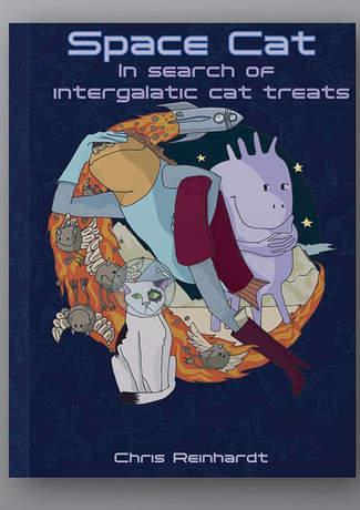 Space Cat:In search of intergalatic cat treats.