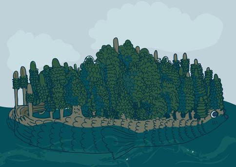 fish island.