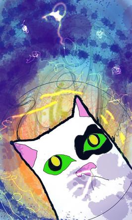 Space cat.