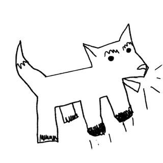 Barking dog.