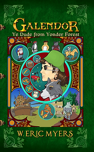 Galendor Book Cover Ye Dude from Yonder Forest
