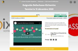 Plateforme La Ruche Guignolée Bellechasse-Etchemins 2020.png