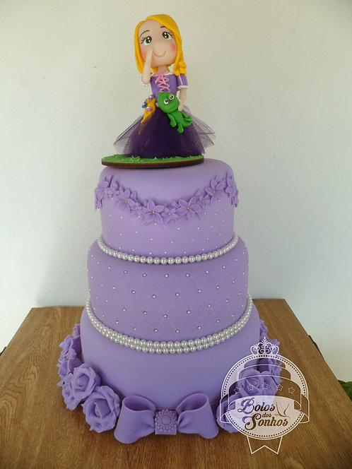 Bolo Enrolados (Rapunzel) R9032r