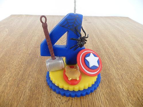 Vela biscuit Super Herois