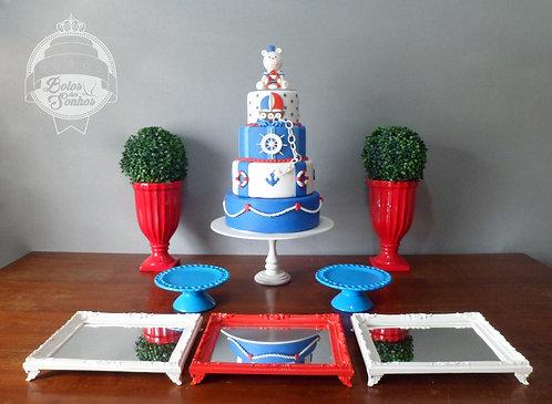 Kit Marinheiro 8 peças + bolo