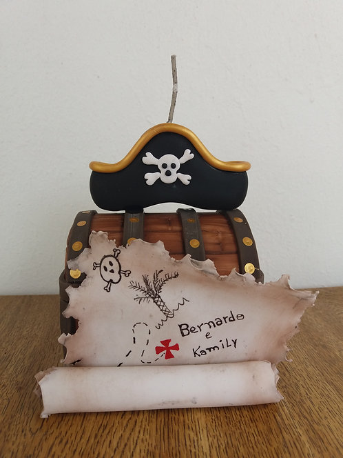 Vela Biscuit Pirata