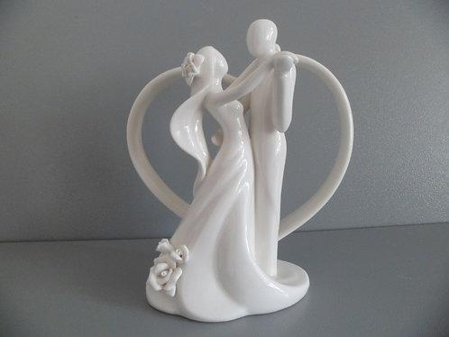 Topo casamento cerâmica