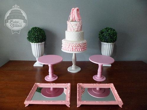 Kit Bailarina 7 peças + bolo