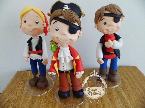 Piratas 3 personagens R2011