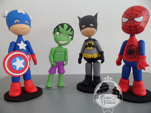 Personagens Super Heróis