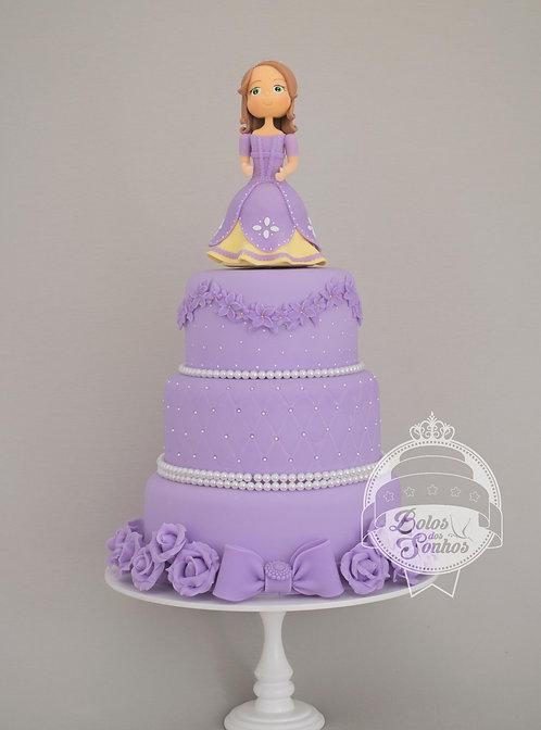 Bolo Princesa Sofia R9032