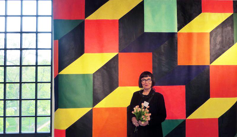 Jorunn Steffensen, Cubes. Triennial of Tapestry Lódz 2013.