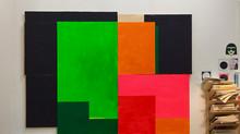 """Jorunn Steffensens utstilling """"Farger i Flaten"""" på SOFT galleri, 15. juni – 30. juli 2017"""