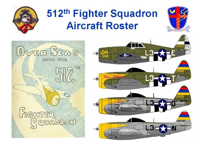 512th Squadron roster