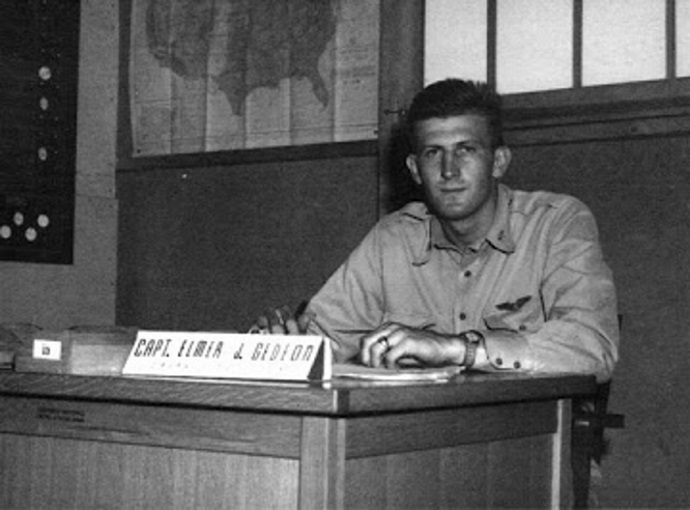 Captain Elmer Gedeon