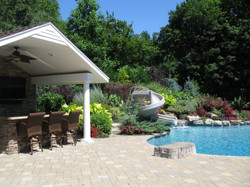 Pool and Patio area with Cabana