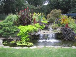 Waterfall & Pond