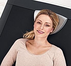 Hydrojet femme souriante