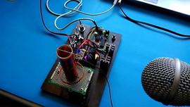 8 bit quality audio Tesla coil