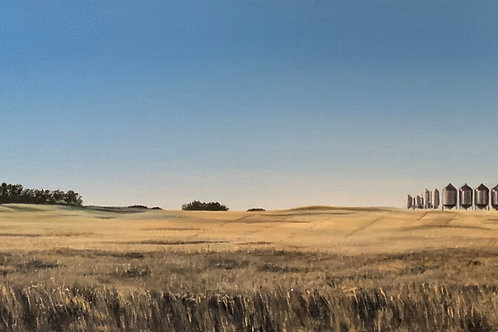"""Prairie Life"" - Cross Canada Series - South Qu'appelle SK"