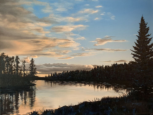 """""""Brothers Across the Water"""" - Cross Canada Series - Whiteshell MB"""