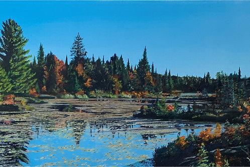 """Fall Morning"" - Cross Canada Series -Elliot Lake district ON"