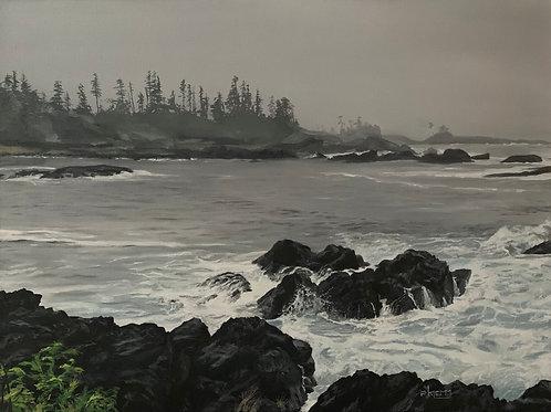 Turbulent Shores - Print