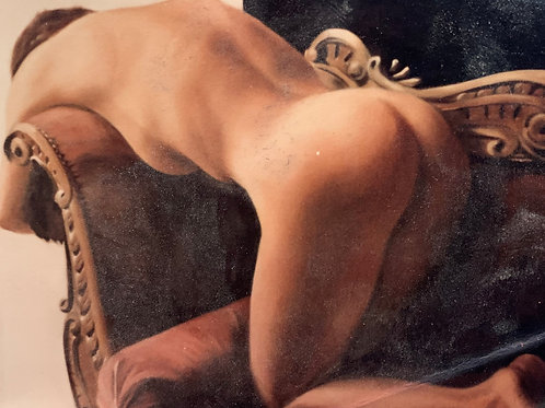 Nude on a Settee