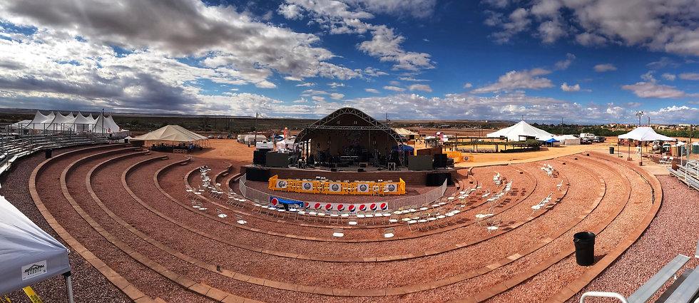 Tuba City Fairgrounds, Amphitheater