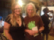 Lori Gibson with Ina May Gaskin