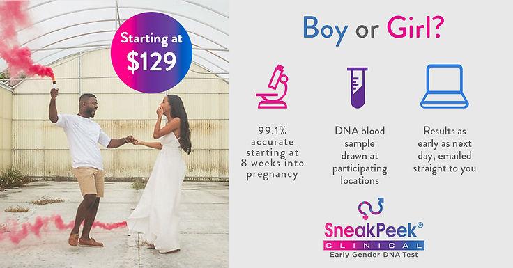 SneakPeek Gender DNA
