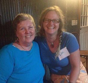 Lori Gibson and Joanne Santana