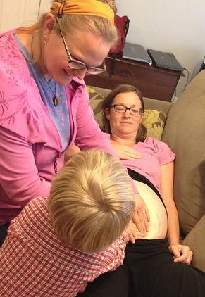 prenatal care, midwife, siblings, family