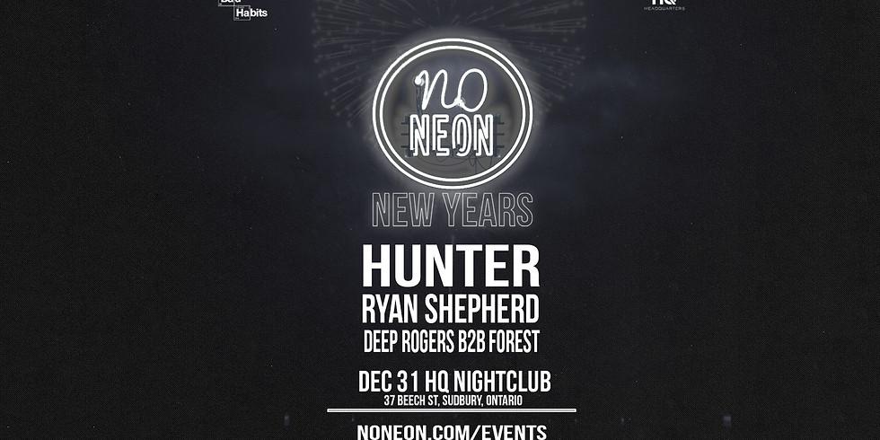 No Neon New Years At HQ NightClub!