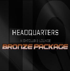 -BRONZE- BOTTLE SERVICE