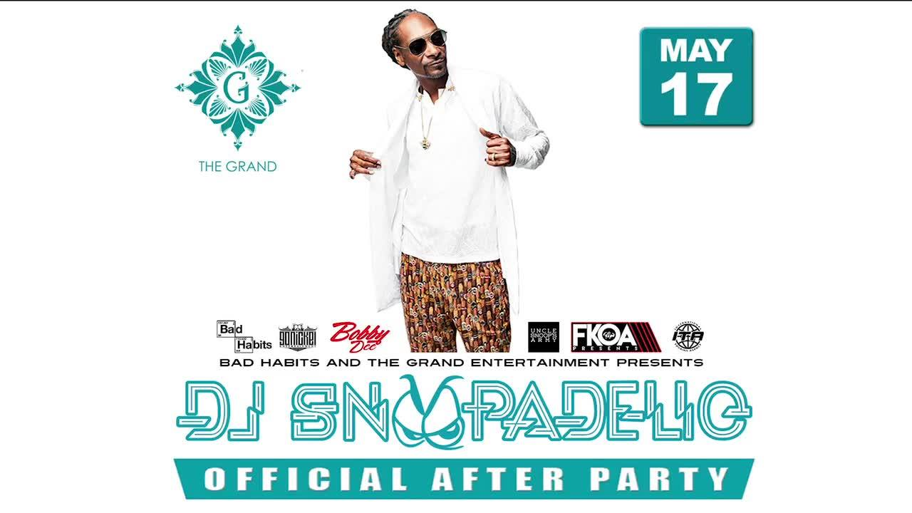 BadHabits Entertainment Presents: DJ Snoopadelic