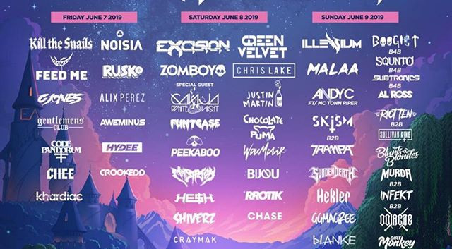 The full _everafterfest 2019 line-up😍🔥