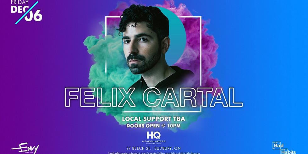 Felix Cartal @ HQ Nightclub & Lounge