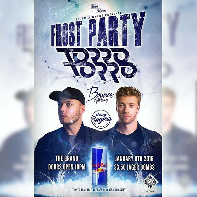Huge party tonight with _torrotorrograms