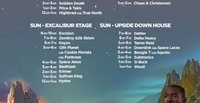 _everafterfest set times ! Where are you